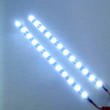 30cm 12V 15 LEDs Car Auto Motorcycle Waterproof Strip Lamp Flexible Light D~