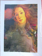 "Michael Knigin "" Dream Lady Dream "" Limited Edition SIGNED Lithograph  Print"