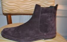PAUL SMITH BEST LINE CHESTNUT SUEDE ANKLE BOOTS UK 8 US 9 EURO 42 ITALY NEW