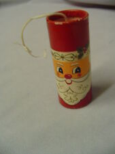 "Santa On Box Of Wooden Matches Japan 2.5"" Tall Capri Feb. 1967"