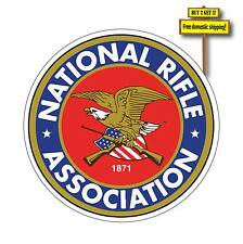 "5"" NRA Decal/Sticker National Rifle Association Gun Rights Pistol 2nd Amen GN85"