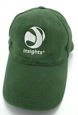 INSIGHTS (PEOPLE TESTING & DEVELOPMENT ) green adjustable cap / hat