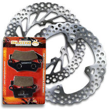 Honda Front+Rear Brake Disc Rotor + Pads CR125 R [1998-2001] CR250 R [1997-2001]