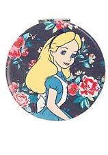 Disney Alice In Wonderland Alice & Queen Of Hearts Compact Mirror New With Tags!