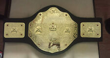 "WWE WCW World Heavyweight Championship Jakks Belt 32"" Waist RETIRED HOGAN FLAIR"