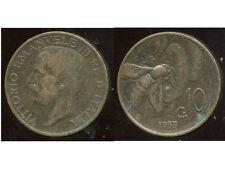 ITALIE  ITALY  10 centesimi 1933   ( bis )