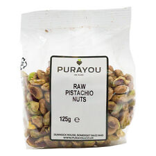 Raw Pistachio Nuts 125g - Free UK Shipping