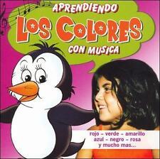 Aprendiendo Los Colores Con Musica   Brand New And Sealed  Free USA Shipping