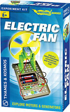 Electric Fan Thames & Kosmos Ignition Series Science Experiment Kit Motors & Fan