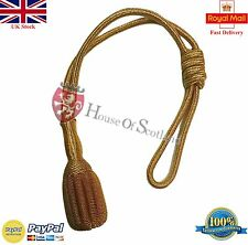 NEW ROYAL NAVY GOLD BULLION SWORD KNOT/BRITISH SWORD KNOT/WWI WWII SWORD KNOT