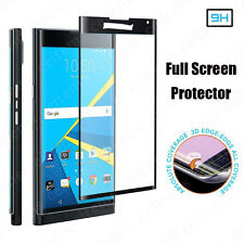 Full Cover Curved Tempered Glass Guard Screen Protector Film For BlackBerry Priv