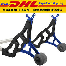 Racing Motorcycle Sport Rear Combo Wheel Lift Stands Paddock Stands Blue