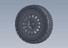 LEGEND PRODUCTION, LF1229, Wolf W.M.I.K Standard Tread pattern Wheel set, 1:35