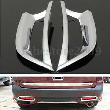 Chrome Tail Rear Fog Light Trim Decoration Cover For Honda CRV CR-V 2012-2014