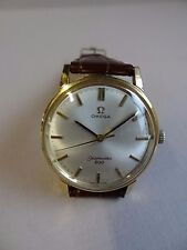 GENTS OMEGA SEAMASTER 600 STEEL & GOLD PLATED GENTS WRIST WATCH 1970'S WORKING