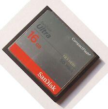 16GB SanDisk Compactflash  CF-Speicherkarte  Ultra 50MB / S SDCFHS-016G For DSLR