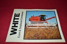 White Oliver Tractor 7300 8600 8800 Combine Dealer's Brochure PBPA