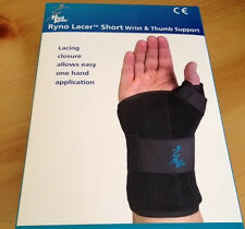 Med Spec Ryno Lacer Wrist & Thumb Support, X-Large Left 223986 New In Box