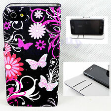Magnetic PU Leather Wallet Holder Open Purse Cover Case For Apple iPhone 5 5S SE