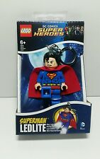 LEGO - DC SUPER HEROES SUPERMAN LED LITE Key Light BRAND NEW IN PACKET
