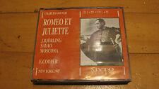 GOUNOD-ROMEO ET JULIETTE-BJORLING SAYAO MOSCANA NY 1947-MYTO 2CD & BOOK