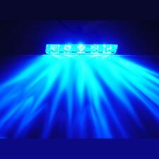 BLUE 5 LED POD ACCENT LIGHT Wire Attached Motorcycle/Car/Home/ATV/BOAT 12V DIY