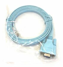*NEW* 6FT Console Cable for Cisco Switch, Router RJ45 to DB9 (SAME DAY SHIPPING)