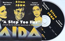 CD CARDSLEEVE ELTON JOHN/BARBARA SCAFF & JENNY MACKAY 2T A STEP TOO FAR 1999