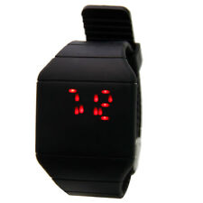 New Fashion Men Women Digital Watch LED Touch Screen Sport Wrist Watch Black US