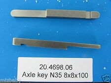 Free line axle keys 8x8x100 stepped axle key for rental karts to keep from slide