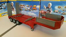 Bruder Low Loader trailer suit Tamiya/Wedico 1/14, 1/16  RC truck conversion.