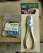 Lem Products Manual Hog Ring Pliers Free Bag of 1/2 inch rings!!!