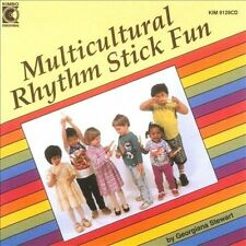 FREE US SHIP. on ANY 2 CDs! NEW CD Kimbo: Multicultural Rhythm Stick Fun