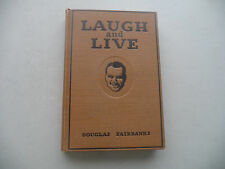 LAUGH AND LIVE  BY FAIRBANKS 1917  w/PLATES