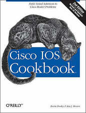 Cisco IOS Cookbook (Cookbooks (O'Reilly)), Acceptable, Kevin Dooley, Ian Brown,