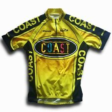 "RETRO 2002 TEAM COAST BIANCHI BIEMME CYCLING JERSEY (LABEL: XL/5) 42"" CHEST"