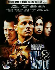 Giovanni Ribisi Brian Dennehy Piper Perabo Cast Hand Signed PSA/DNA 10th & Wolf