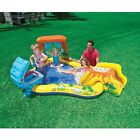 Inflatable Kids Swimming Pool Water Slide Park Play Center Toddler Backyard New