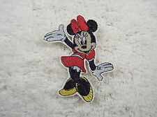"MINNIE MOUSE 4"" Embroidery Iron-on Custom Patch (E3)"
