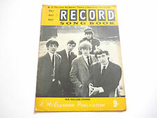 Record Song Book Magazine  1-7-1964 No 9 ? Rolling Stones on cover