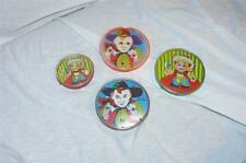 VINTAGE CHILDS PLASTIC PUZZLE TOY GROUP OF 4   MINT IN PACKAGE HONG KONG