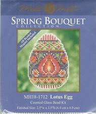 Lotus Egg Mill Hill Bead Cross Stitch Kit