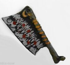 Zombie Hunter Warrior Cleaver Fancy Dress Costume Accessory Plastic