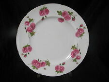 FOLEY BONE CHINA CENTURY ROSE DINNER PLATE SIGNED PAUL GRANET EXCELLENT COND.