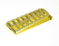 Hipshot Fixed Bridge 8 String 0.175 Floor Gold 41085G - Auth Dealer