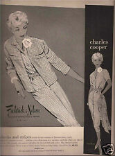 50's  Ted Rand Illustrated Frederick & Nelson Fashion Advertisement  1958
