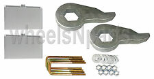 "Lift Kit Front Torsion Keys Rear 2"" Blocks 88 - 98 GM 1/2 ton 6 Lug Truck & SUV"