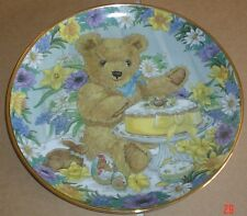 Franklin Mint Collectors Plate TEDDY'S EASTER TREAT