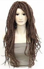 Japan Original Dreadlocks Full Long Wig Wig Cap Gift W-323 Light Brown