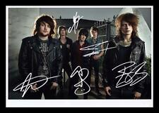 ASKING ALEXANDRIA AUTOGRAPHED SIGNED & FRAMED PP POSTER PHOTO